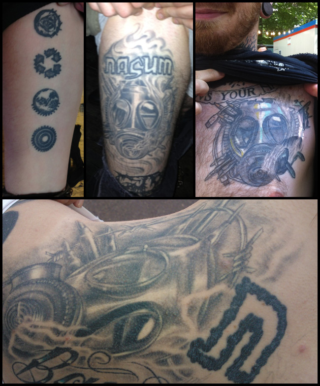 Nasum Com Behind The Scenes Tattoos